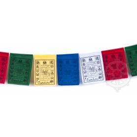 Drapeaux à prières LUNGTA - Taille S - Coton haute qualité