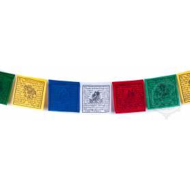 Drapeaux à prières LUNGTA - Taille M - Coton haute qualité
