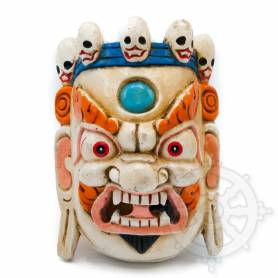 Masques protecteurs - Mahakala Blanc