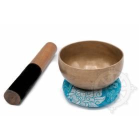 Bol chantant 7 métaux - 12cm - 465gr. - A sharp/La dièse - 470 Hz en provenance de Patan (Népal)