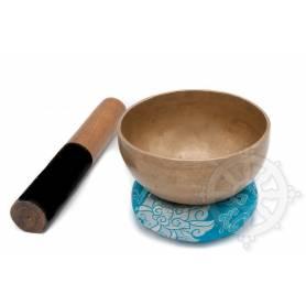 Bol chantant 7 métaux - 13cm - 440gr. - G/Sol - 395 Hz en provenance de Patan (Népal)