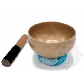 Bol chantant 7 métaux - 17cm - 825gr. - A/La - 110 Hz en provenance de Patan (Népal)