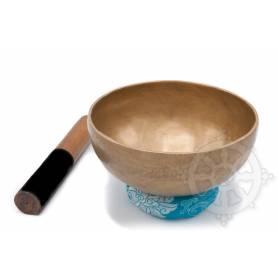 Bol chantant 7 métaux - 19cm - 900gr. - D/Ré - 585 Hz en provenance de Patan (Népal)