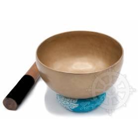 Bol chantant 7 métaux - 19cm - 1000gr. - F sharp/Fa dièse - 185 Hz en provenance de Patan (Népal)