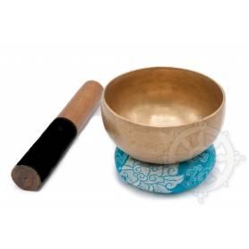 Bol chantant 7 métaux - 13cm - 555gr. - A/La - 440 Hz en provenance de Patan (Népal)