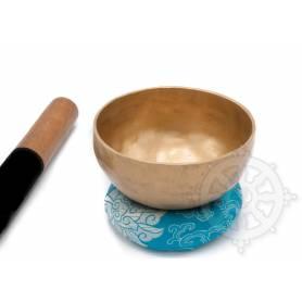 Bol chantant 7 métaux - 19cm - 925gr. - G sharp/Sol dièse - 410 Hz en provenance de Patan (Népal)