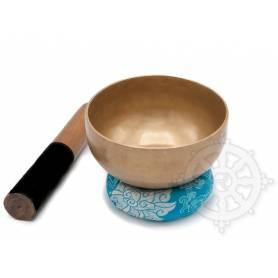 Bol chantant 7 métaux - 14cm - 610gr. - A/La - 905 Hz en provenance de Patan (Népal)
