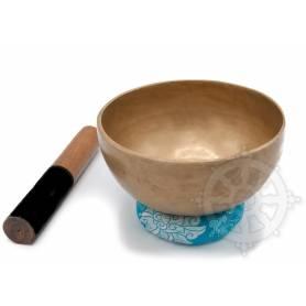 Bol chantant 7 métaux - 18cm - 865gr. - D/Ré - 580 Hz en provenance de Patan (Népal)