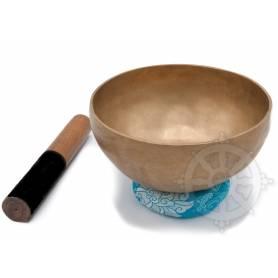 Bol chantant 7 métaux - 19,5cm - 990gr. - F/Fa - 170 Hz en provenance de Patan (Népal)