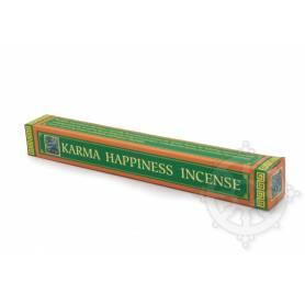 Senteur Épicée KARMA HAPPINESS (BOÎTE CARRÉE) étui de 30 bâtonnets 22cm - 70gr.
