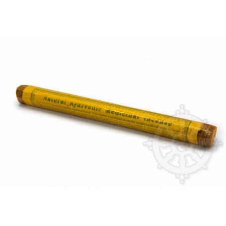 Senteur Herbacée ENCENS MÉDICINAL NATUREL AYURVÉDIQUE étui de 27 bâtonnets 23cm - 50gr.