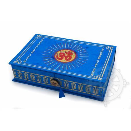 Gift pack Tibet incense (4 incenses, burner, Buddha statue, mala, prayer  flag, kata) - Traveling Altar - OM