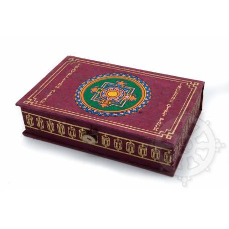 Gift pack Tibet incense (4 incenses, burner, Buddha statue, mala, prayer  flag, kata) - Traveling Altar - Mandala