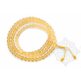 Malas de 108 perles en citrine  (8mm)