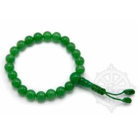 Malas pour poignet en jade d'Inde (8mm)