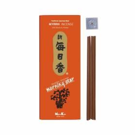 Senteur Myrrhe MORNING STAR (NIPPON KODO) étui de 200 bâtonnets 15cm - 70gr.
