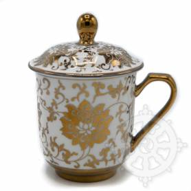 Mug à thé pour Lama (doré)