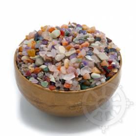 Mix de pierres semi-precieuses pour l'offrande du Mandala - 500gr