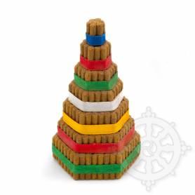 Pyramide d'encens pour offrande