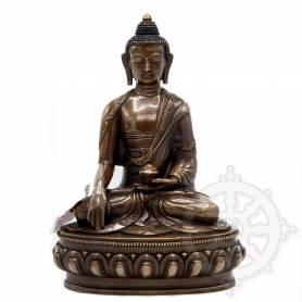 Bouddha Shakyamuni(H. 22 cm-Statues en cuivre)
