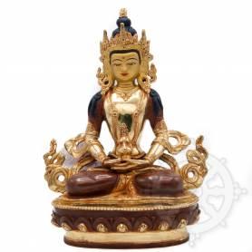Très belle statue de Amithayus(H. 20 cm-Statues plaquées or 24k (partiel))