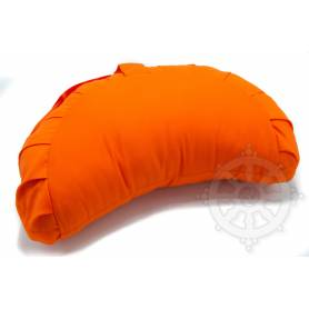 Coussins 1/2 ZAFU ou FUZEN  (H. 15 x l. 26 x L. 40 cm, Orange)