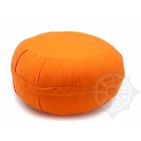 Coussins ZAFU QUALITÉ SUP. (Haut. 18 x Diam. 35 cm, Orange)