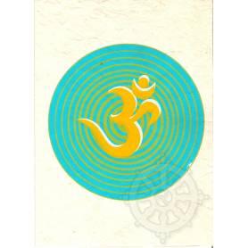 Cartes postales OM en Papier lokta