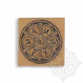 Tampon - Mandala - OM MANI