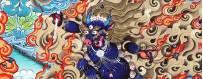 Thangka, Thanka, peinture de deites/divinites pour les pratiques de visualisation, bouddhisme, rituel, deite