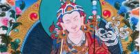Thangka's van met de hand geschilderde goden, 2019