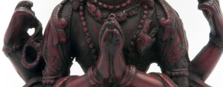 Beelden van hars voor visualisatiepraktijken, boeddhisme, ritueel, godheid, 2019