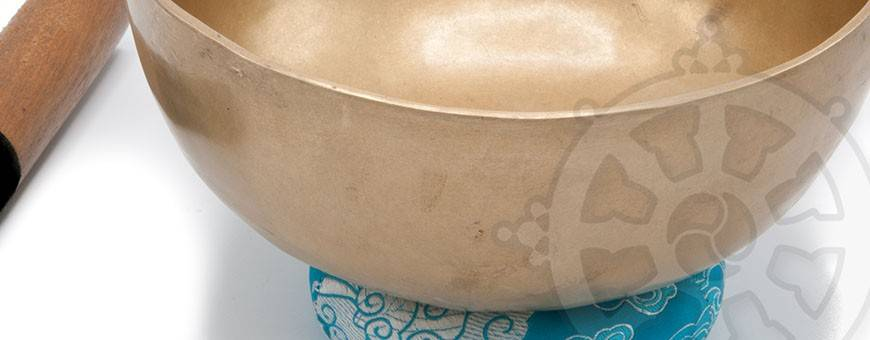 Tibetan singing bowls 7 metals (Free shipping)