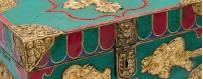 Coffres pour objets rituels - sculpture bois naturel