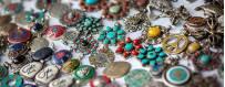 Bijoux homme-femme Himalaya nature or argent pierres