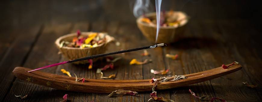 Buddhist centers incense