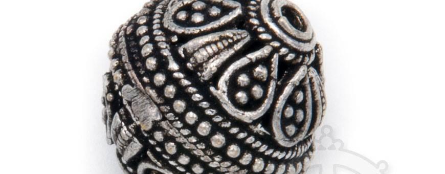 Bijoux Perles homme-femme Himalaya nature or argent pierres, 2019