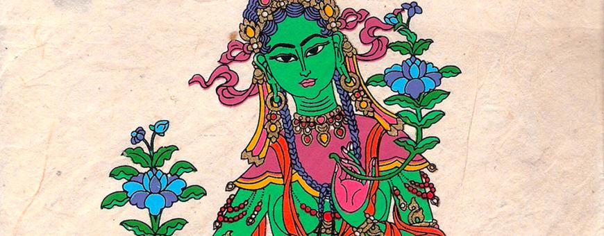 Groene Tara ritueel