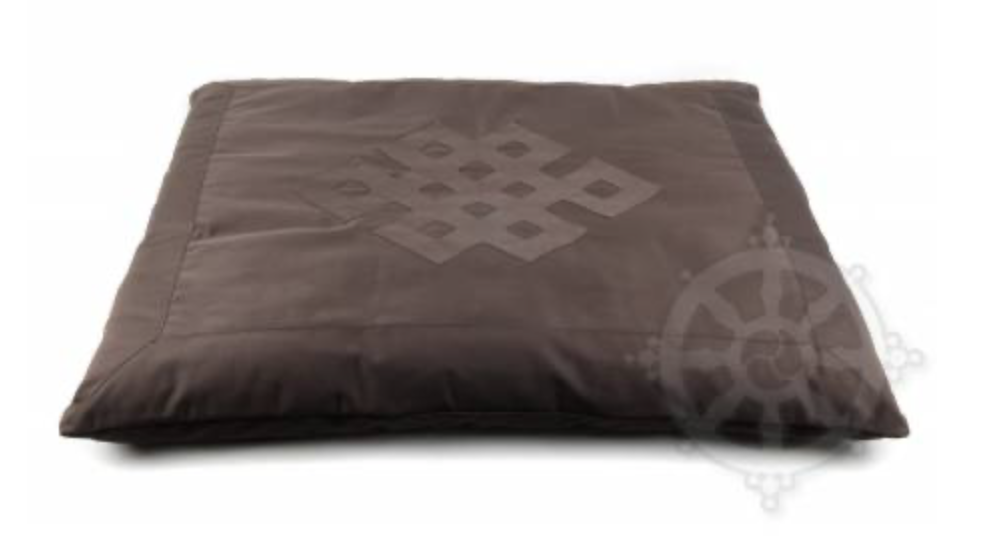 The meditation relaxation mat or Zabuton is ideal for lying down to meditate or to isolate yourself from the coldness of the ground.  Make sure that your meditation mat has a washable cover or that it is washable itself.