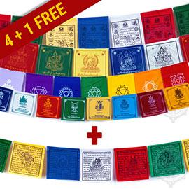 promopack drapeaux 4+1